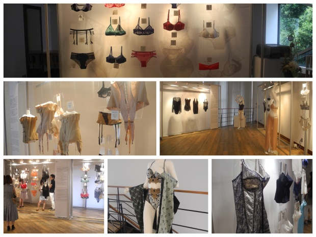 Lingerie exhibit