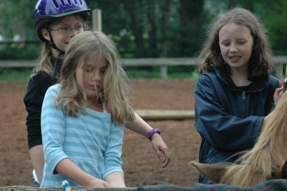 Horseback riding camp